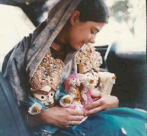 Mother Hladini | ISKCON Bangalore