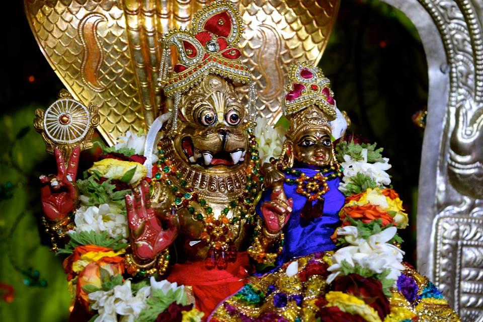 Narasimhadeva - ISKCON Bangalore